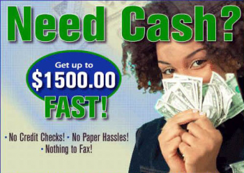 need cash with no credit check